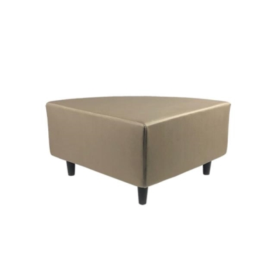 Rental store for TAT ¼ RD OTTOMAN-SILVERTEX TAUPE in Miami FL