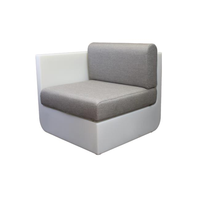 Where to find ULM CHAIR RIGHT-RGBW LED W TAUPE CUSH in Miami
