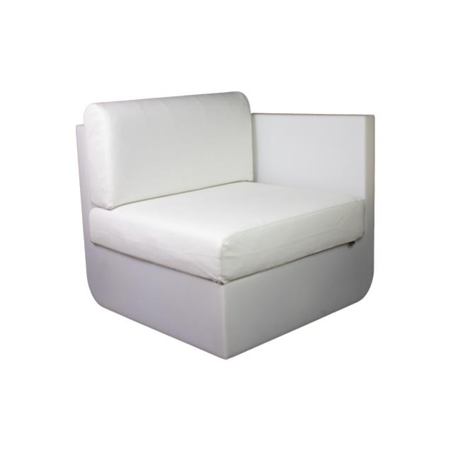 Where to find ULM CHAIR LEFT-RGBW LED W WHITE CUSH in Miami