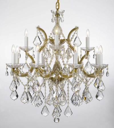 Rental store for CHANDELIER-CRYSTAL GOLD 30H28W in Miami FL