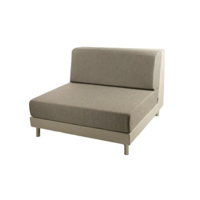 Rental store for PIXEL ARMLESS ECRU W TAUPE CUSHION in Miami FL