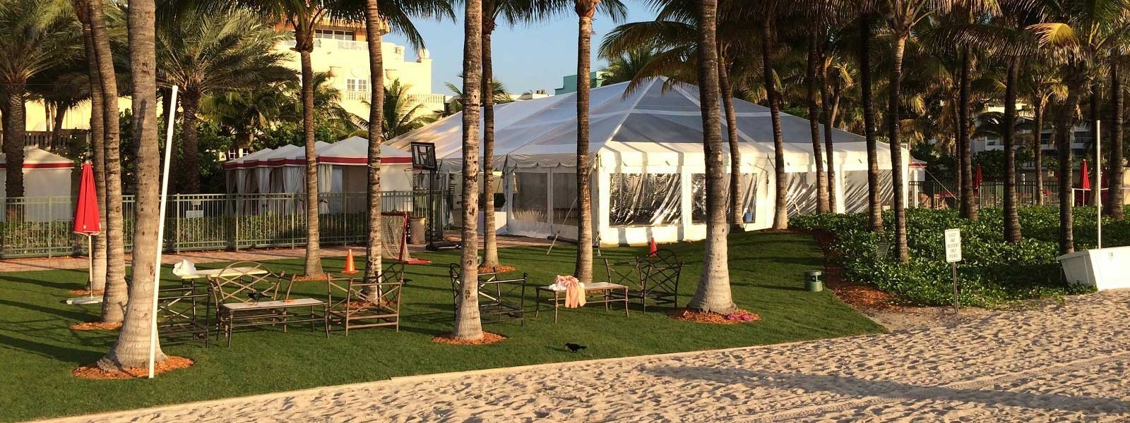 Event rentals in Miami