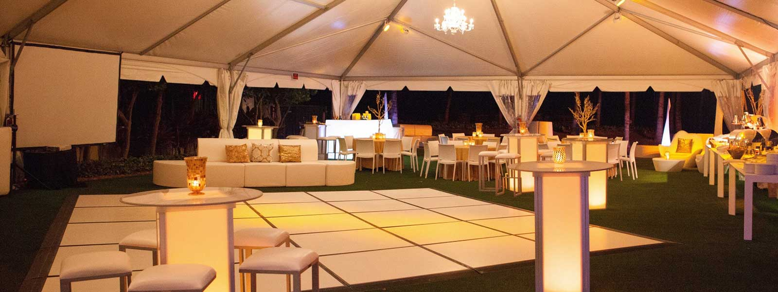 Event rental agency in Miami